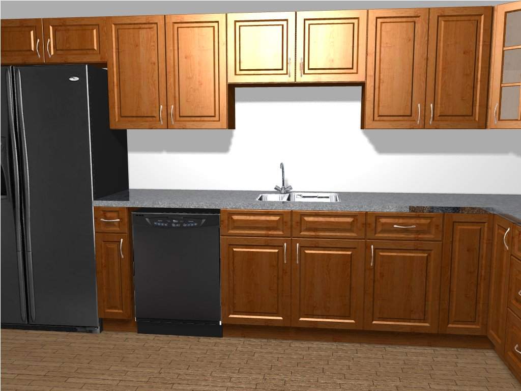 Custom Kitchen Rendering ...